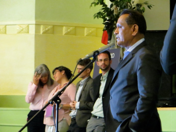 Gil Cedillo and the beleaguered LADOT Bicycle Program he just desimated.